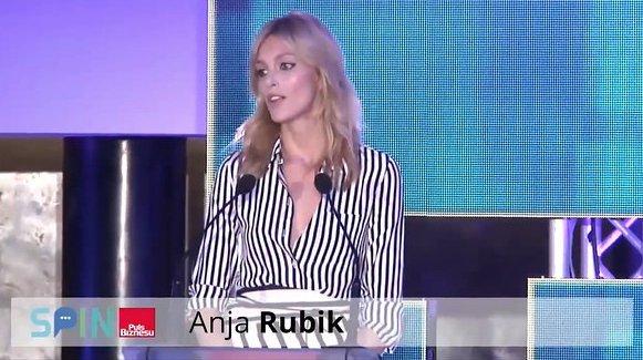 Anja Rubik, konferencja Puls Biznesu