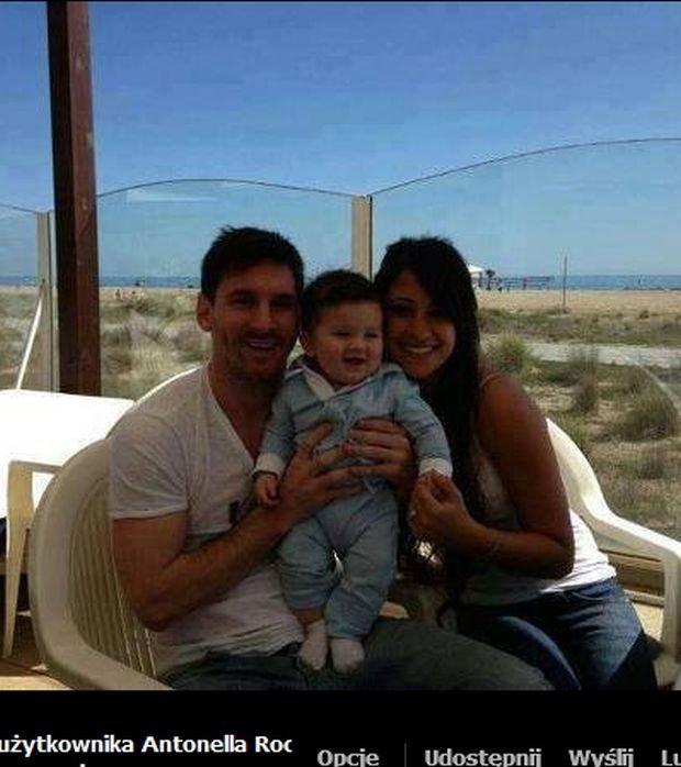 Antonella Roccuzzo, Leo Messi