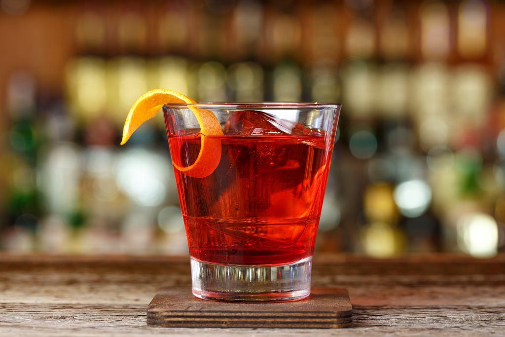 Negroni drink