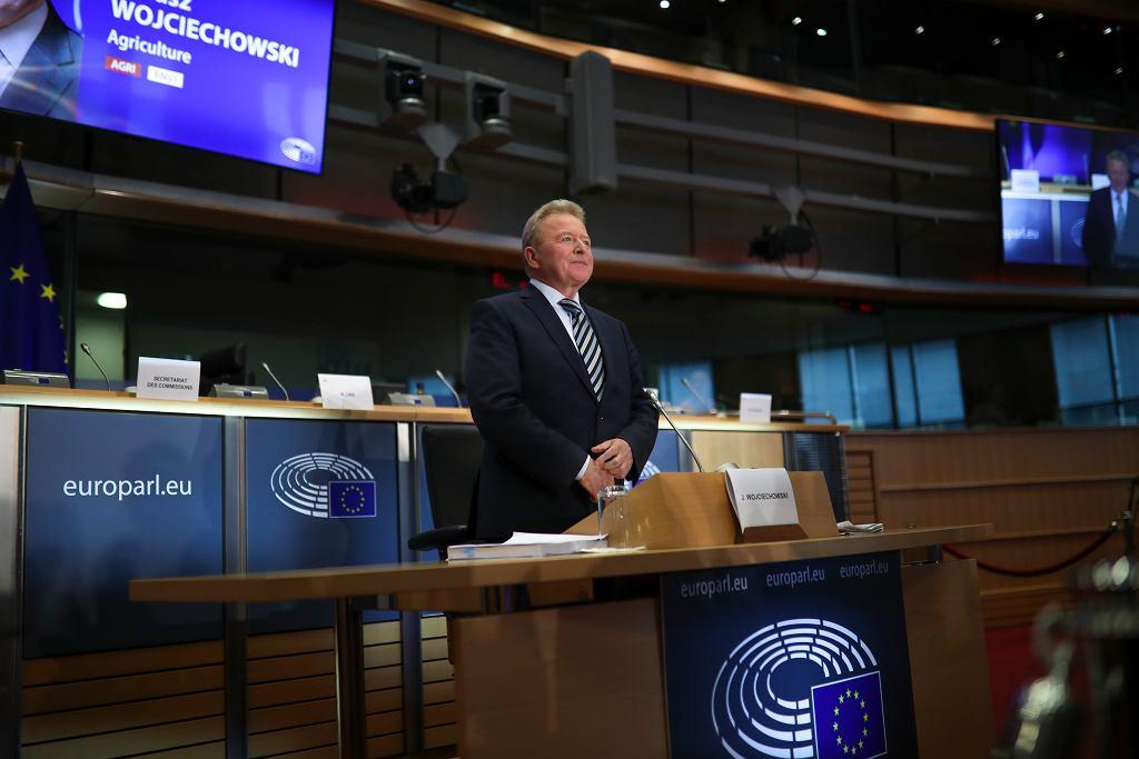 Janusz Wojciechowski na wysłuchaniu w PE.