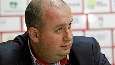 Prezes GKS Katowice Wojciech Cygan