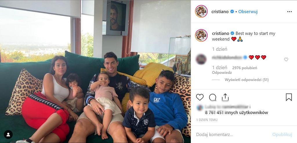 Cristiano Ronaldo ma czworo dzieci