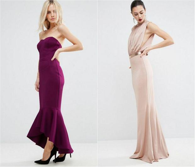Sukienki studniówkowe z ASOS: dla niskich i dla wysokich