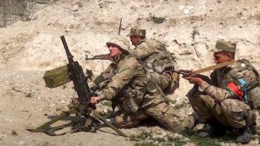 Konflikt o Górski Karabach / Armia azerbejdżańska