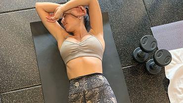 Trening Kourtney Kardashian
