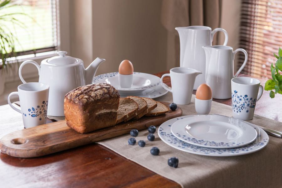 Porcelana do kuchni w stylu skandynawskim