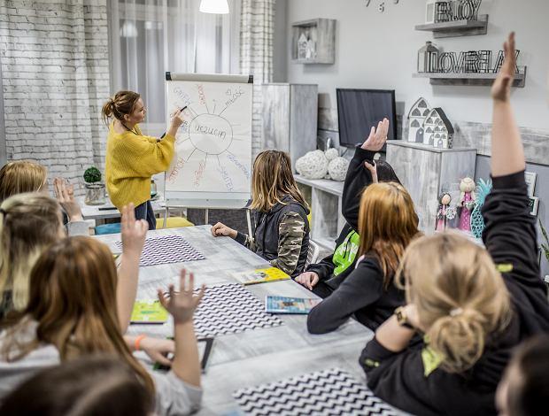Zajęcia w Młodzieżowym Centrum Edukacji i Readaptacji Społecznej w Goniądzu (fot. Tomasz Sokołowski)