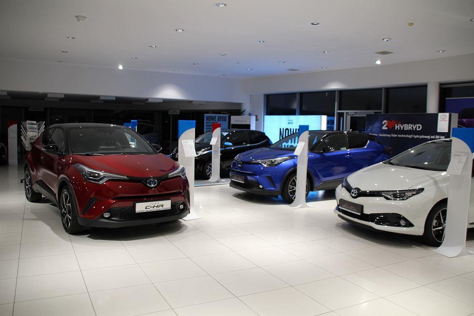 Gdański salon Toyoty