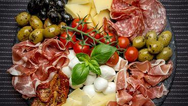Włoskie antipasti