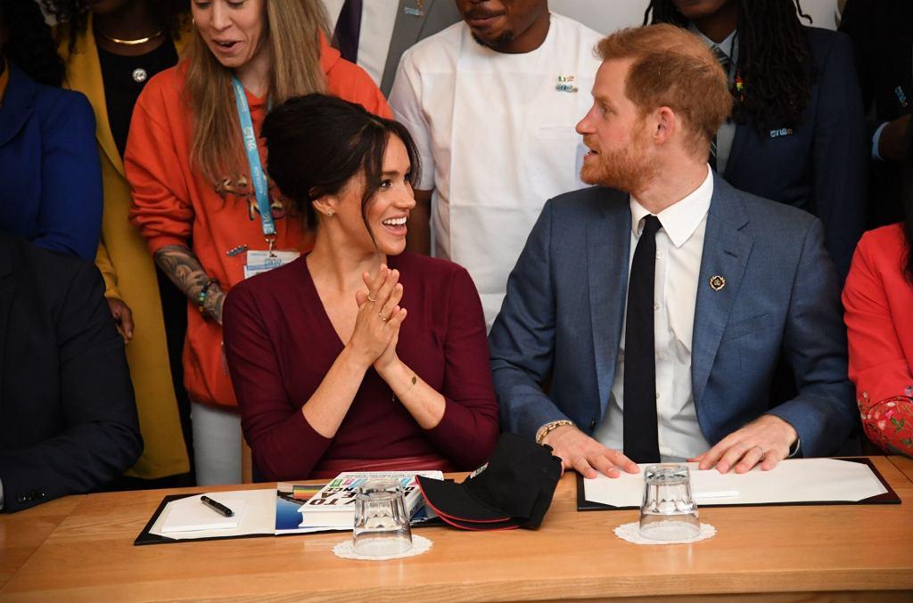 <Ksi???ta Sussex na spotkaniu The Queens Commonwealth Trust