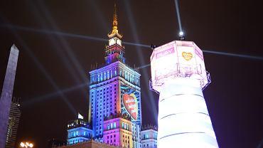 27. Finał WOŚP w Warszawie. Kto zagra na scenie przy Pałacu Kultury i Nauki?