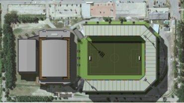 Projekt kompleksu sportowego przy ul. Olimpijskiej w Bytomiu