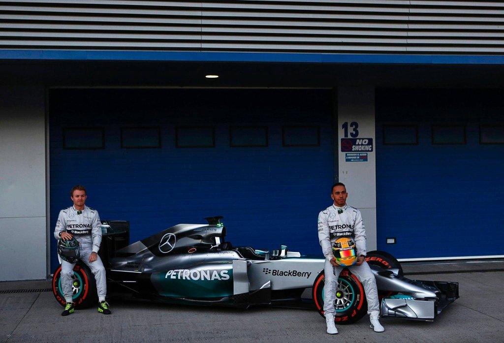 Prezentacja nowego bolidu Mercedesa