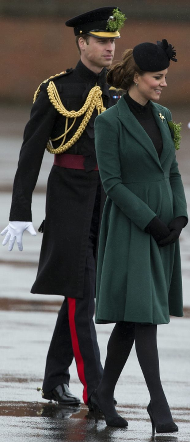 Księżna Kate i książę William, Dzień Świętego Patryka