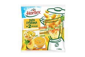 Zupy na szczęście! Nowe zupy Hortex na 2 sposoby - dyniowa i brokułowa
