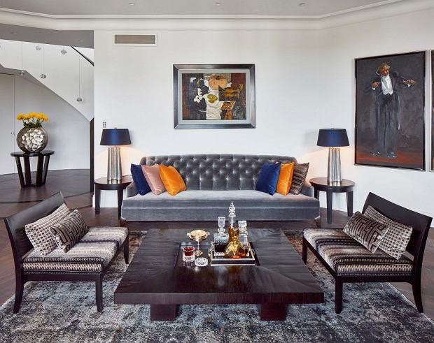Apartament z zaokrąglonymi ścianami