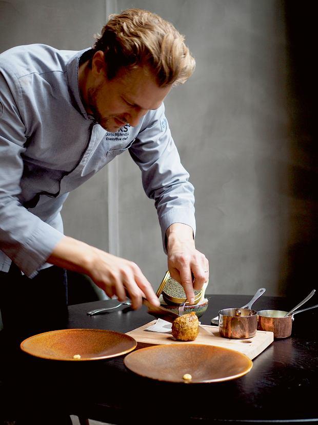Joris Bijdendijk - szef kuchni jednogwiazdkowej restauracji Rijsk