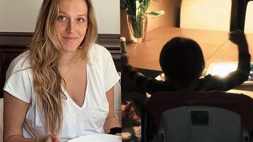 Aleksandra Żebrowska pokazała jak synek spędza czas przed ekranem