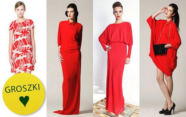 Rozgrzewamy atmosferę: czerwone sukienki
