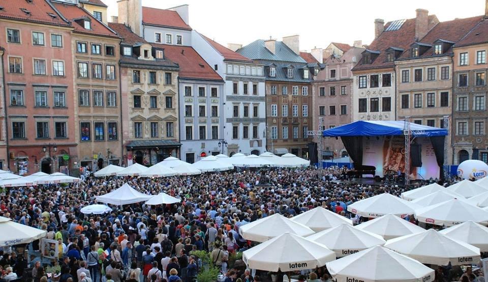 Jazz na Starówce / Fot. Oficjalny profil Hanny Gronkiewicz-Waltz na Facebooku