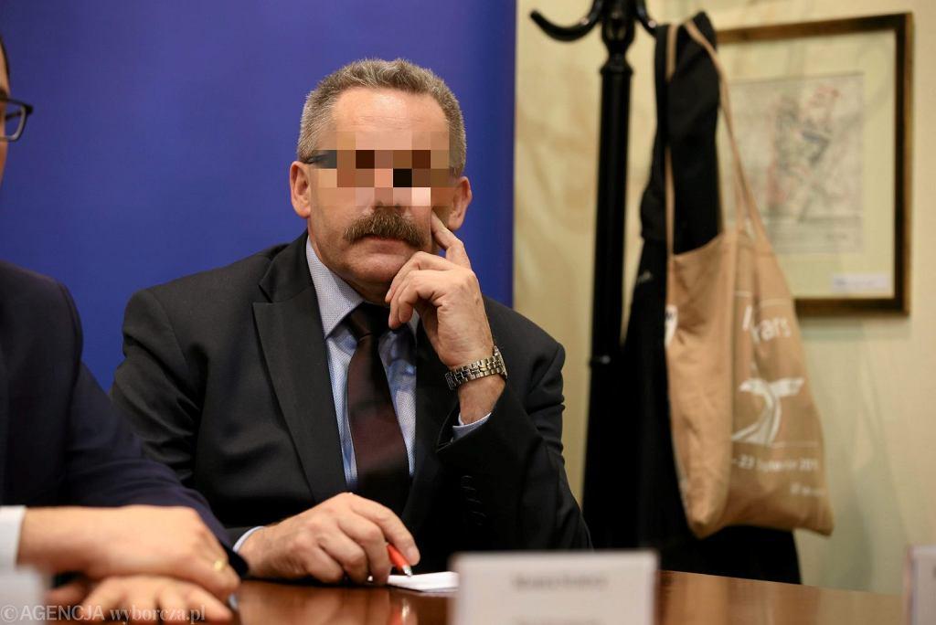 Były prezes PKP Mirosław P.