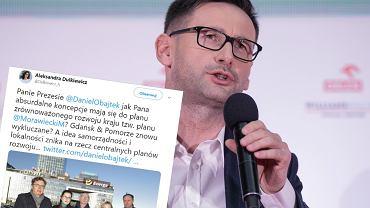 Prezydent Dulkiewicz i prezes Obajtek w sprawie sprzedaży akcji Energii przez PKN Orlen