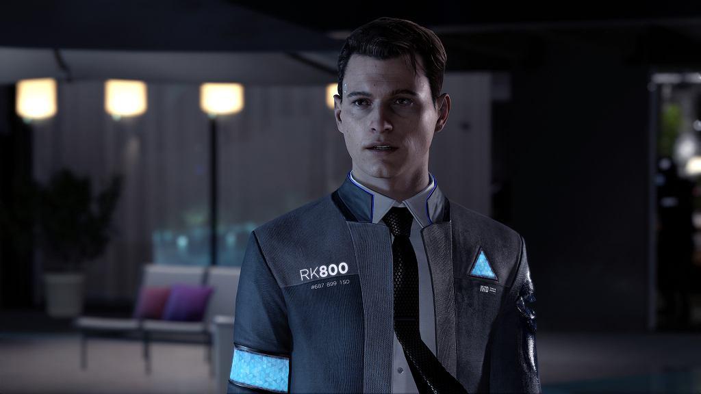 Connor - jeden z bohaterów Detroit: Become Human