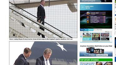 Angielscy piłkarze wracają z Euro 2012