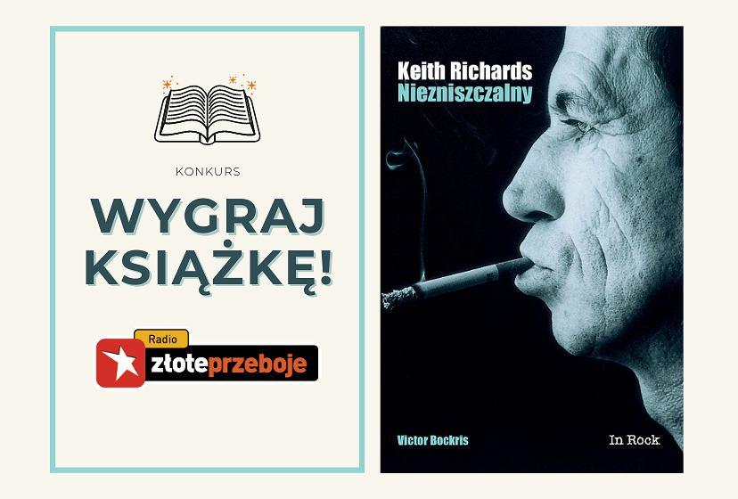 Wygraj książkę 'Keith Richards. Niezniszczalny'!