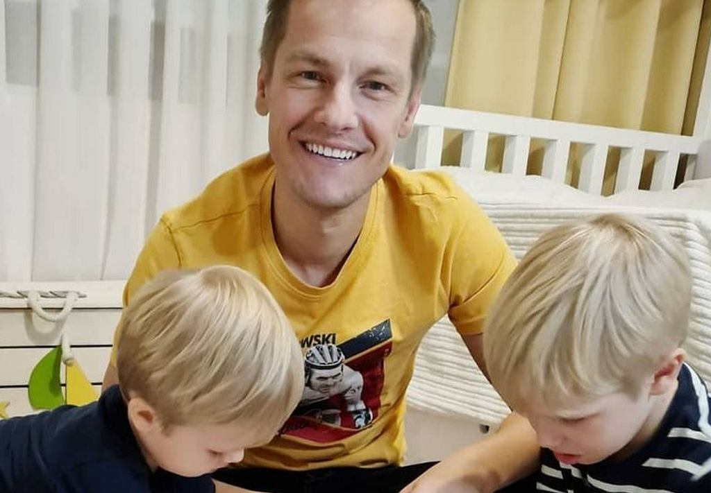 Marcin Mroczek pokazał pokój synów