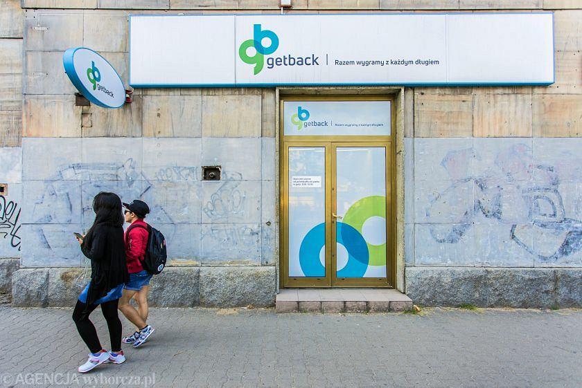 Oddział firmy GetBack przy alei Solidarności 127 w Warszawie