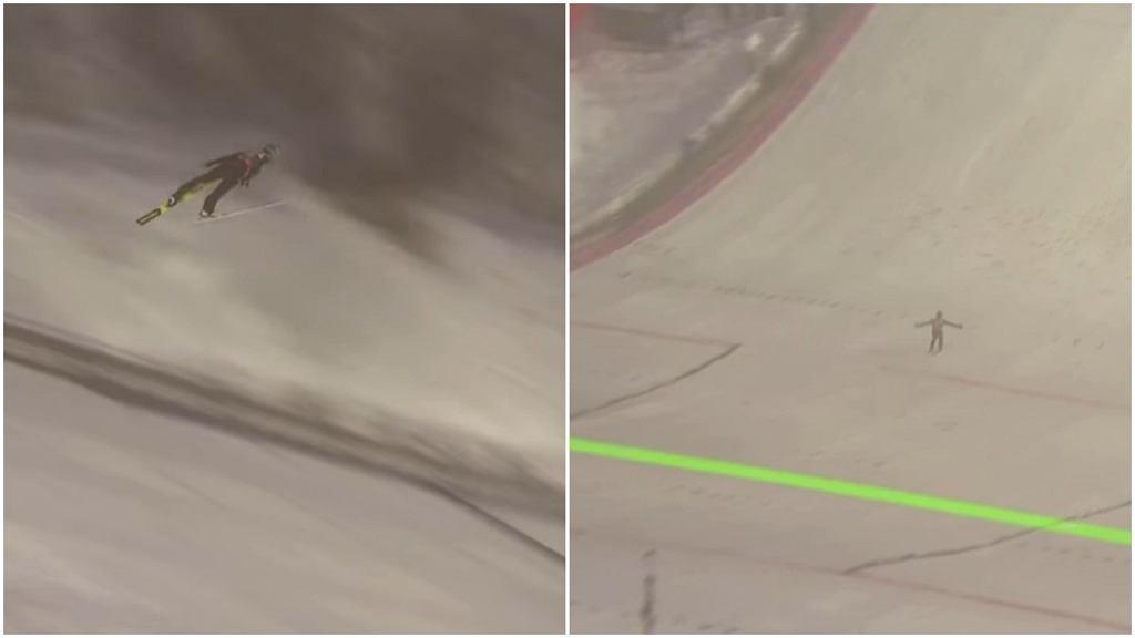 Michael Hayboeck pobił w czwartek w Planicy swój rekord życiowy