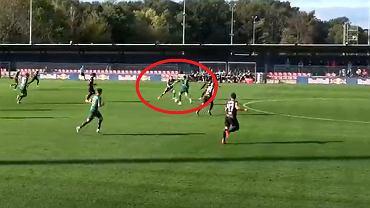 Gol Waldemara Soboty w meczu RB Lipsk - Śląsk Wrocław