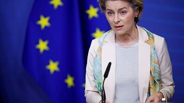 Ursula von der Leyen. 27 grudnia w Unii Europejskiej ruszą pierwsze szczepienia na COVID-19.