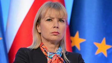 Komisarz UE Elżbieta Bieńkowska