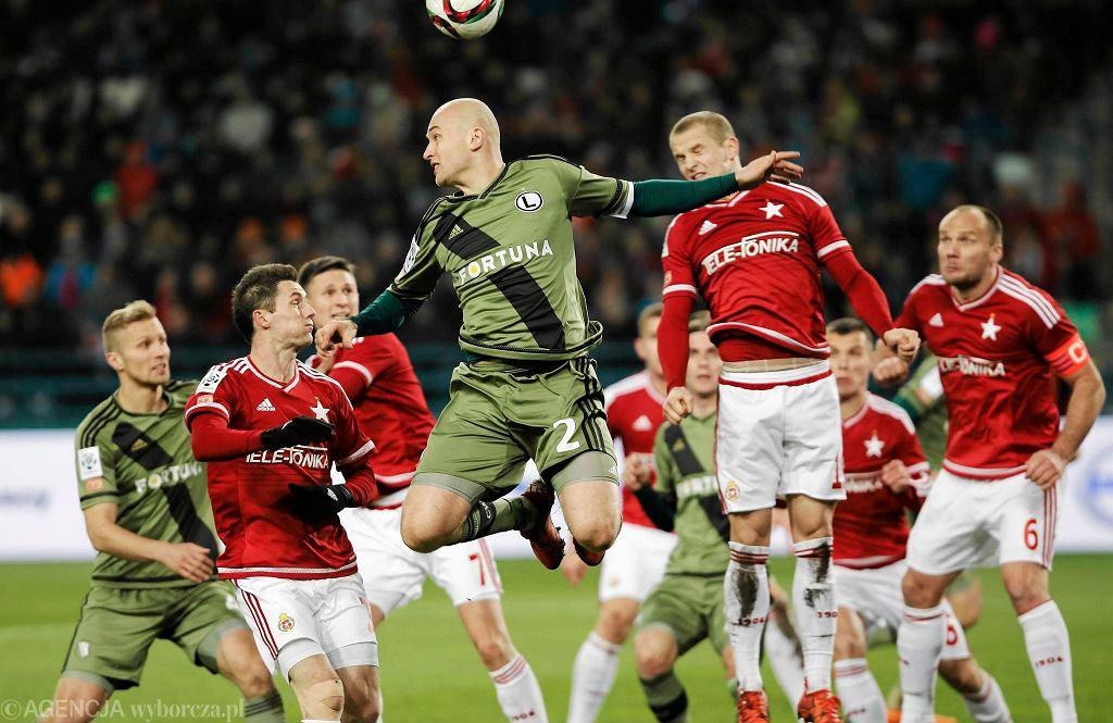 Wisła - Legia. Michał Pazdan