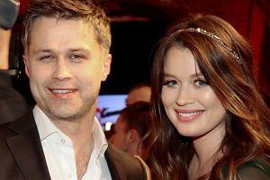 Maciej Zakościelny i Paulina Wyka