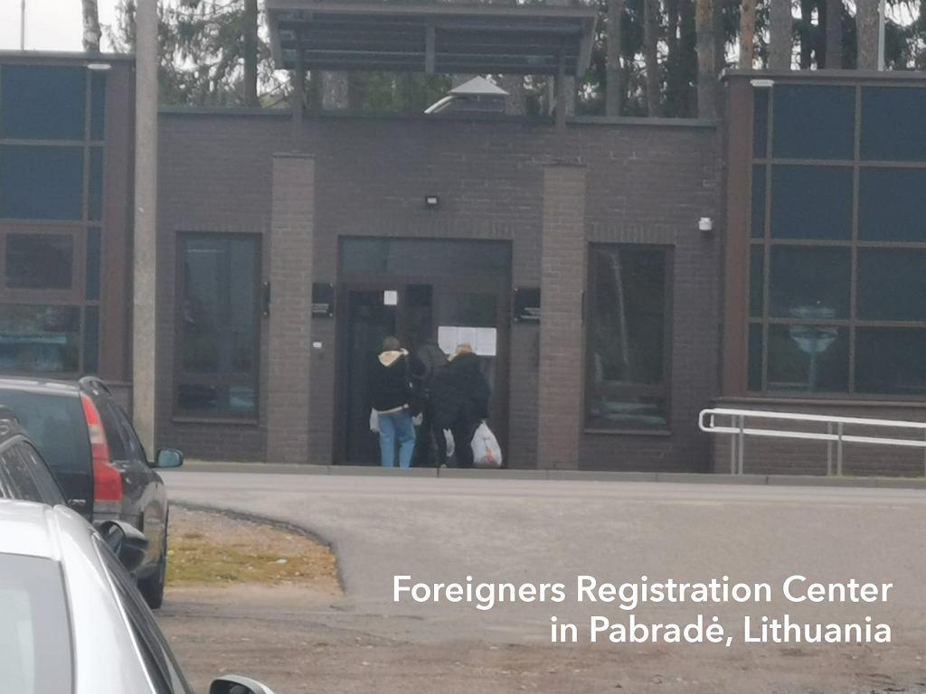 Centrum Rejestracji Cudzoziemców, Litwa