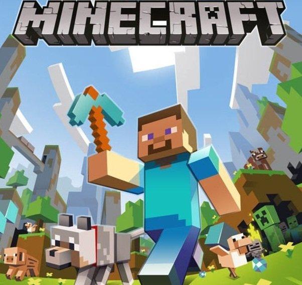 Minecraft - okładka gry