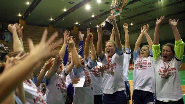 Nasze piłkarki mistrzyniami Polski