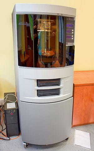 komputery, akcesoria komputerowe, testy, Drukowanie 3D: testujemy najnowsze technologie, Drukarka 3D Dimension Elite, cena: 30 tys. dol.