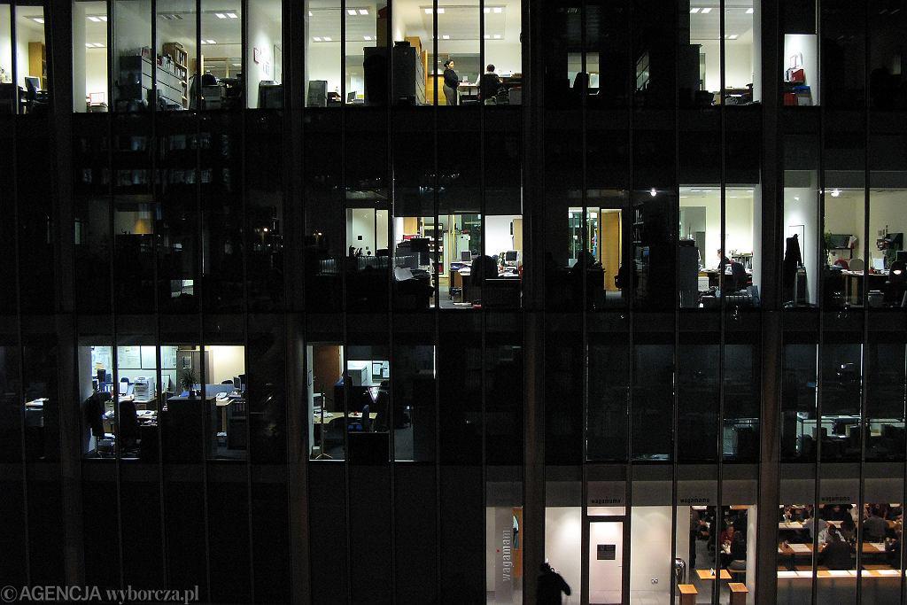 Praca w korporacji (zdjęcie ilustracyjne)