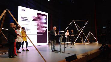 Jerzy Owsiak odbiera nagrodę specjalną Radia TOK FM