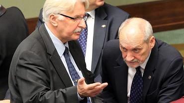 Witold Waszczykowski i Antoni Macierewicz