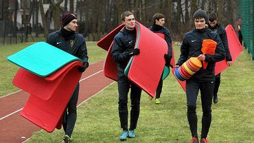 Hubert Matynia (z prawej) będzie już do dyspozycji trenera Pogoni Szczecin