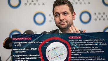 Patryk Jaki nie wie, którędy przebiega obwodnica Warszawy