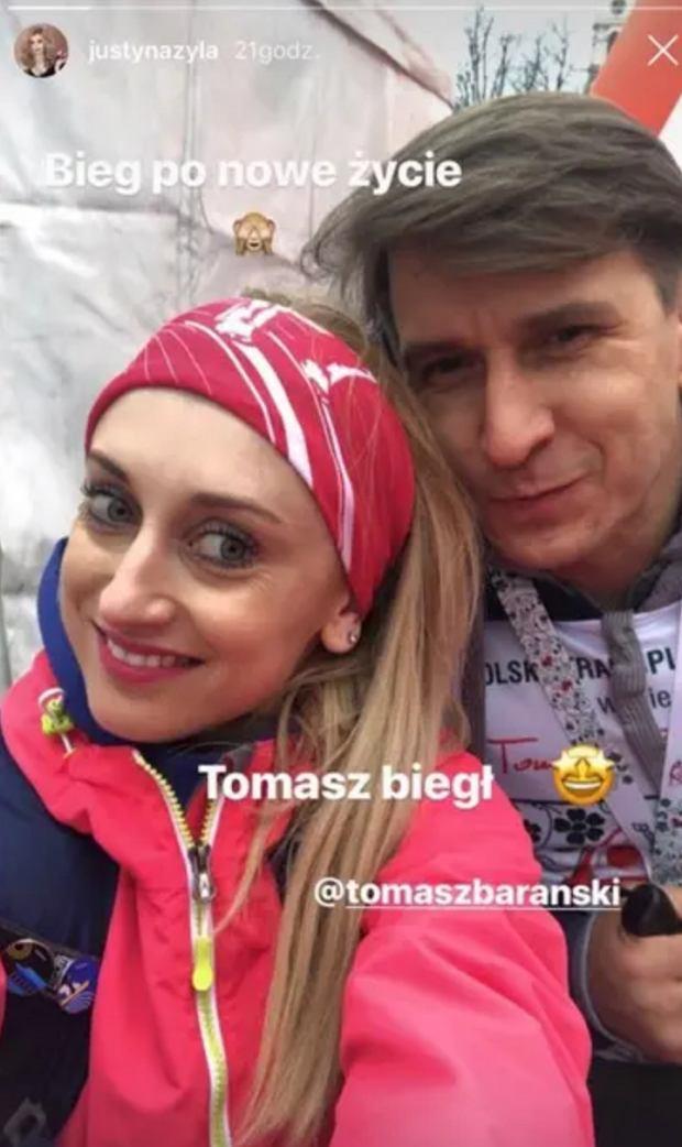 Justyna Żyła i Tomasz Barański
