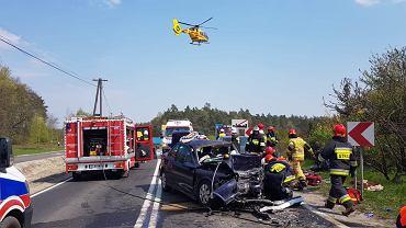 526d1bbdeafdc Poważny wypadek w Moskorzewie. Siedem osób rannych, jedna w stanie ciężkim