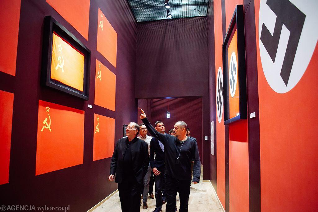 Słynny architekt Jan Gehl zwiedza Muzeum II Wojny Swiatowej