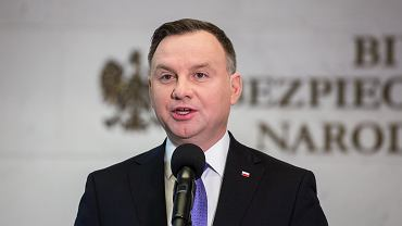 Andrzej Duda. Spotkanie w Biurze Bezpieczeństwa Narodowego w sprawie koronawirusa.